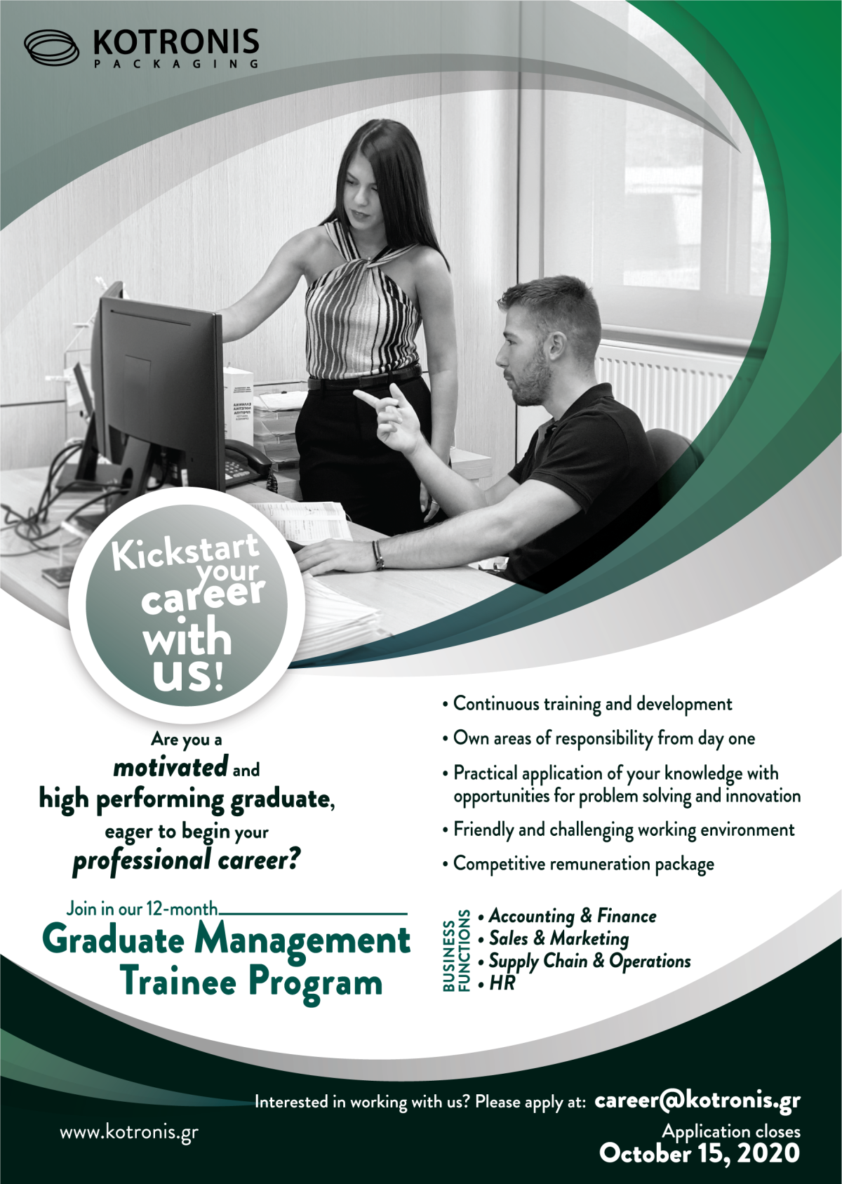 Management trainee program